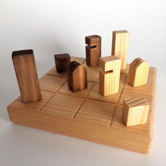 multi jeux en bois
